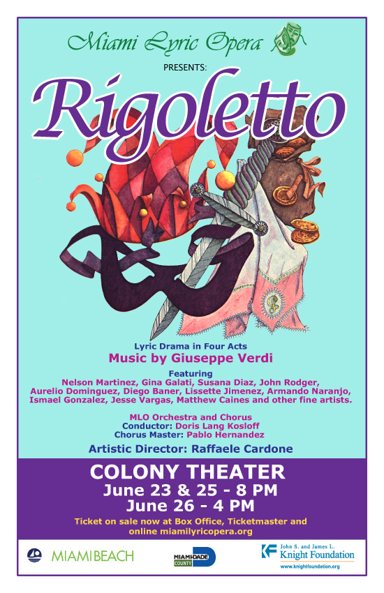 Miami Lyric Opera presents Rigoletto at Colony Theatre
