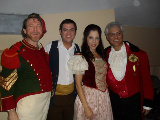 Daniel Snodgrass, David Pereira, Susana Diaz and Oscar Martinez